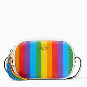 Kate Spade || Rainbow Stripe Camera Bag
